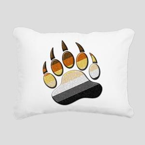 Bear Paw Rectangular Canvas Pillow