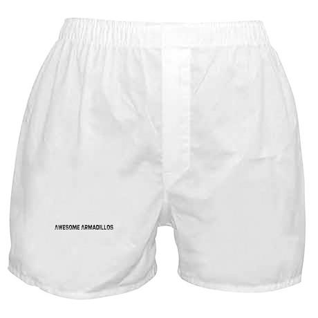 Awesome Armadillos Boxer Shorts