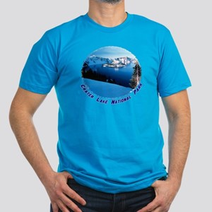 Crater Lake National Park Men's Fitted T-Shirt (da