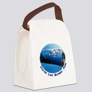 Crater Lake National Park Canvas Lunch Bag