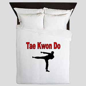 Tae Kwon Do Queen Duvet