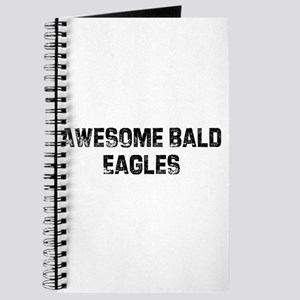 Awesome Bald Eagles Journal