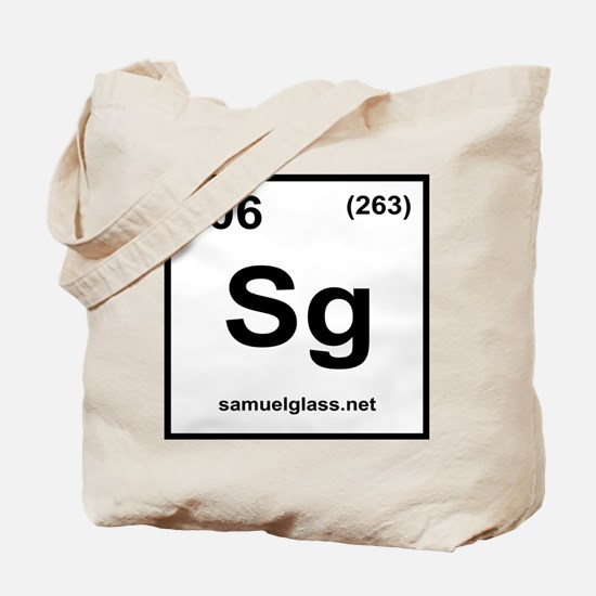 SG Logo White Tote Bag