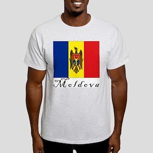 Moldova Ash Grey T-Shirt