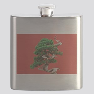 Juniper bonsai Flask