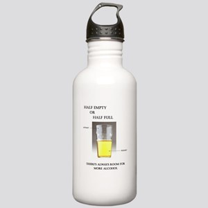 Half Empty or Half Full -- You Decide Water Bottle