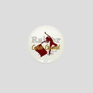 TJ Raider Color Guard Mini Button