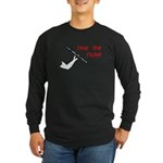 Flute Long Sleeve Dark T-Shirt