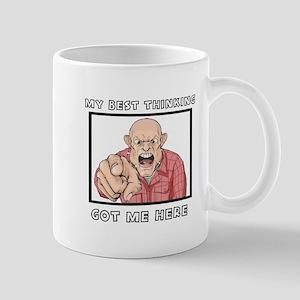 My Best Thinking ~3000X3000 Mug