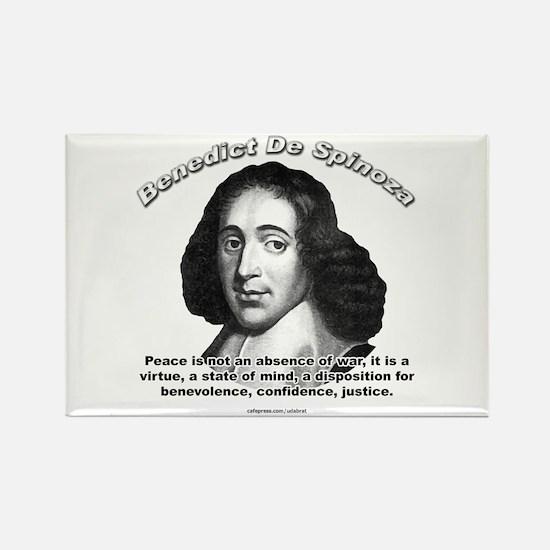 Benedict De Spinoza 01 Rectangle Magnet (10 pack)
