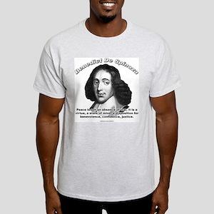 Benedict De Spinoza 01 Ash Grey T-Shirt
