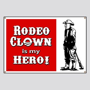 Rodeo Clown Hero Banner