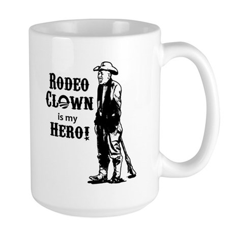 Rodeo Clown Hero Large Mug