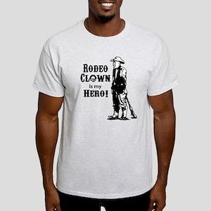 Rodeo Clown Hero Light T-Shirt