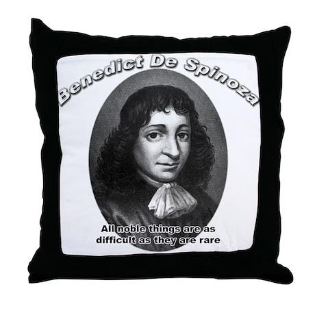 Benedict De Spinoza 02 Throw Pillow