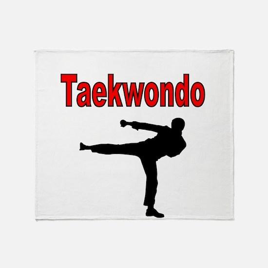 Taekwondo Throw Blanket
