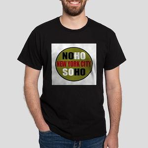 GREEN: Soho Noho Logo Shirts  Dark T-Shirt