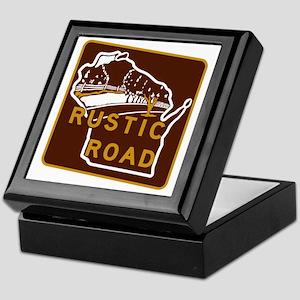 Wisconsin Rustic Road Keepsake Box