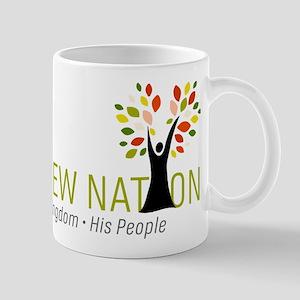 Hebrew Nation Logo 11 oz Ceramic Mug