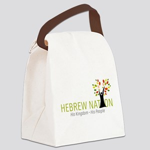 Hebrew Nation Logo Canvas Lunch Bag