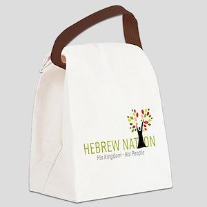 Hebrew Nation Logo Canvas Lunch Bag