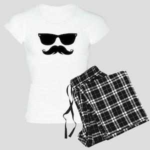 Sunglasses Mustache pajamas