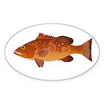 Red Grouper f Sticker
