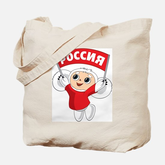Rossiya Cheburashka Tote Bag