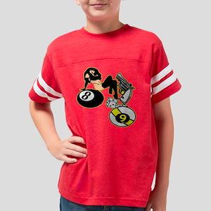 Blk_Mans_Ruin_00333 Youth Football Shirt