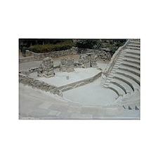 Ancient Theatre Rectangle Magnet