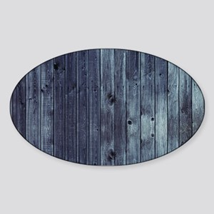 GREY FENCE 2 Sticker (Oval)