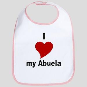 I Love My Abuela Bib