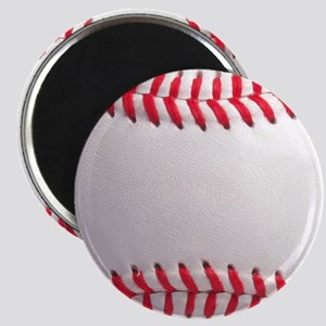 Baseball ball close-up Magnet