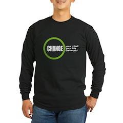 CHANGElogo BLK Long Sleeve T-Shirt