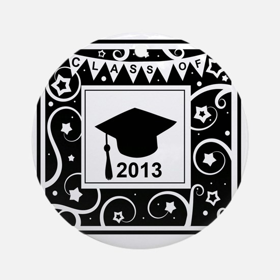 Class of 2013 Graduate Round Ornament