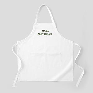 Army Ranger: Love - camo BBQ Apron