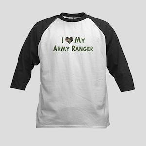 Army Ranger: Love - camo Kids Baseball Jersey