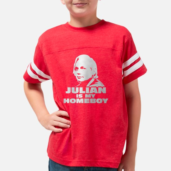 Wikileaks Julian Assange Youth Football Shirt
