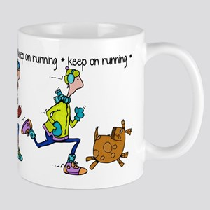 Keep on Running Mug