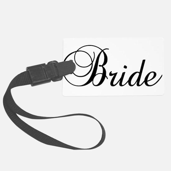 Bride Dark Luggage Tag