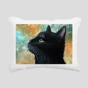 Cat 545 Rectangular Canvas Pillow