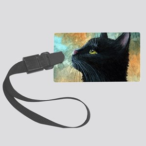 Cat 545 Large Luggage Tag