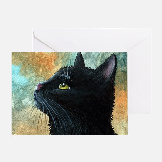 Cat 545 Greeting Card
