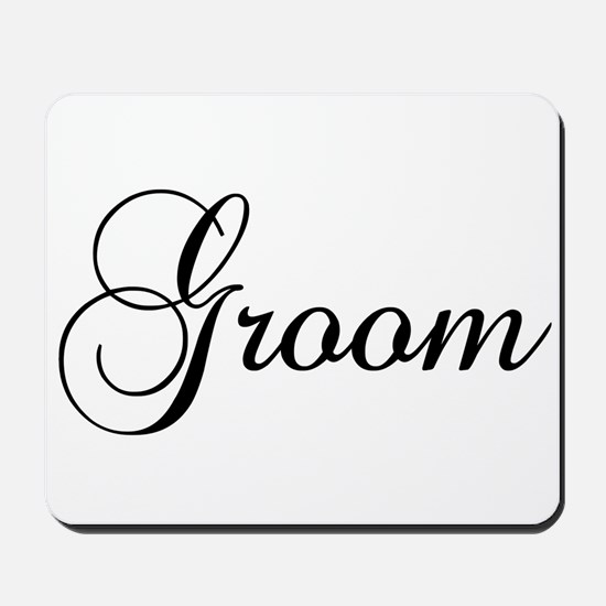 Groom Dark Mousepad