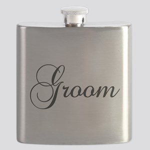 Groom Dark Flask