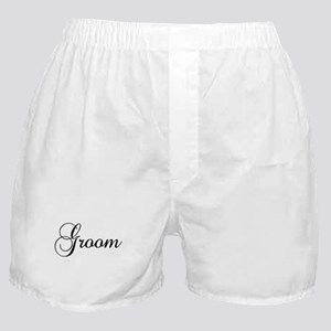 Groom Dark Boxer Shorts