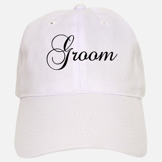 Groom Dark Baseball Cap