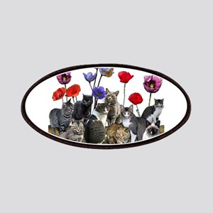Cats and flowers Patch