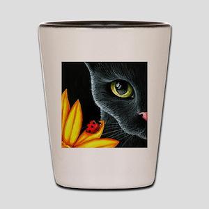 Cat 510 Shot Glass