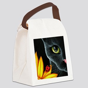 Cat 510 Canvas Lunch Bag